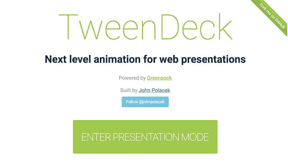 TweenDeck Project Page
